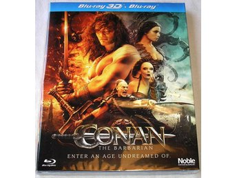 Conan the Barbarian 3D (3D + 2D) (Blu-ray) **HELT NY**