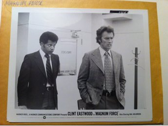 MAGNUM FORCE 4st Orginal Foton 26x20 cm - Clint Eastwood
