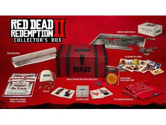 Red Dead Redemption 2: Collectors / Collector's box - Helt ny