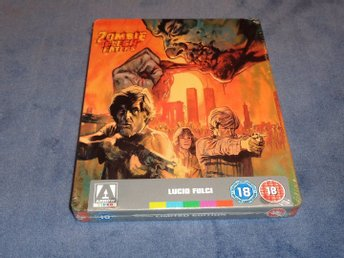 Blu-ray steelbook: Zombie Flesh Eaters (Arrow UK exclusive)