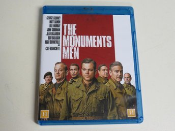 THE MONUMENTS MEN (Blu-ray) George Clooney