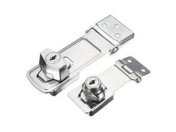 Fräscha Låsning cylinder HASP Staple garage Gate dörr l.. (361707285) ᐈ RV-79