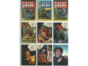 9 st  TALES FROM THE CRYPT  SAMLARKORT  - LOT NR 7