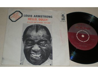 Louis Armstrong 45/PS Hello Dolly 1964