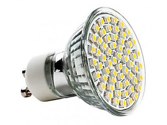LED GU10 2.5 Watt 60 LED Spotlight