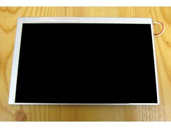 WideScreen 7tum TFT Display inkl passande Resistiv GlasTouch