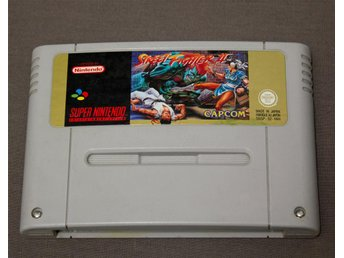Street Fighter II SNES Super Nintendo Street fighter 2