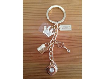 Coach princess key ring