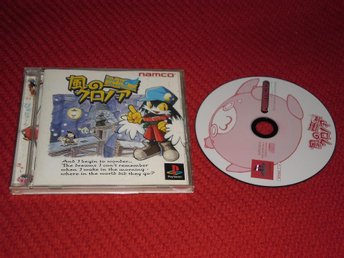 Japanskt Klonoa Door to Phantomile PS1