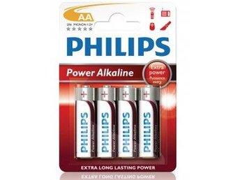 Philips Power Alkaline AA LR06 4-pack - Malmö - Philips Power Alkaline AA LR06 4-pack - Malmö