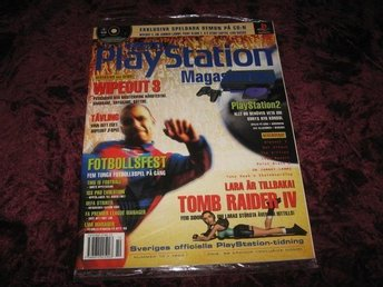 PLAYSTATION 22 NY CD 10/1999 I ORGINALPLAST (WIPEOUT 3)