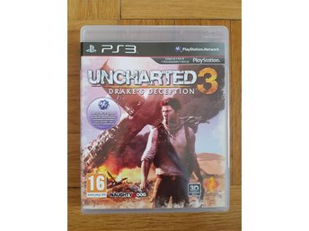 Uncharted 3 / Drake's Deception / PS3 Spel