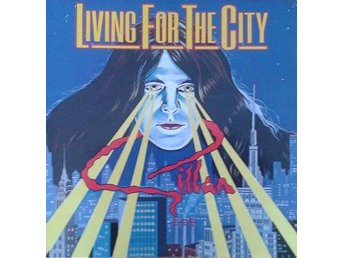 Gillan titel*  Living For The City* UK 7""