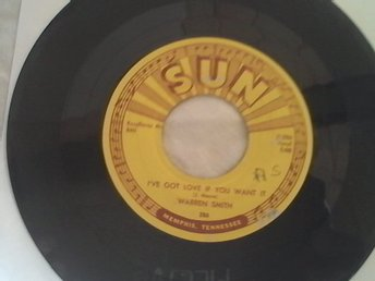 WARREN SMITH SUN #286#, I'VE GOT LOVE IFYOU WANT, IT ORIGINAL SUN ROCKABILLY