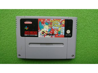 Krusty's Super Fun House SCN Super Nintendo Snes