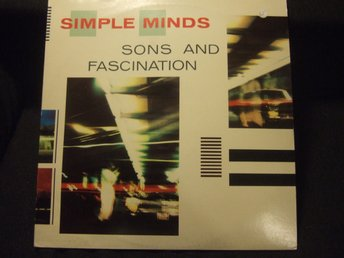 LP - SIMPLE MINDS. Sons and Fascination. 1981