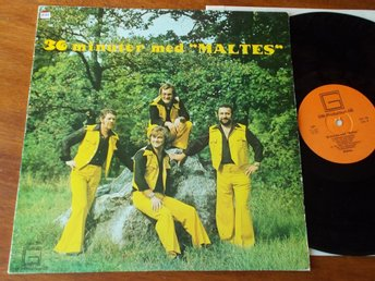 MALTES - 36 minuter med, LP GM-Production 1975 Little Gerhard & Fogerty covers