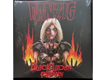 DANZIG Black Laden Crown (Red vinyl) LP Misfits Samhain