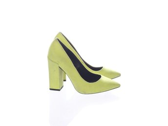 River Island, Pumps, Strl: 37, Grön, Mockaimitation