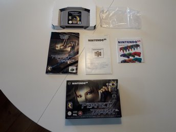 Nintendo 64 Perfect Dark