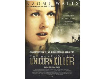 The Hunt for the Unicorn Killer 1999 DVD