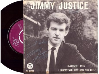 JIMMY JUSTICE    BLOODSHOT EYES      SINGEL