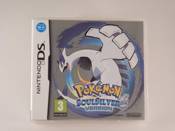Nintendo DS  --  Pokemon Soul silver   --  PAL