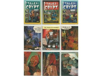 9 st  TALES FROM THE CRYPT  SAMLARKORT  - LOT NR 3