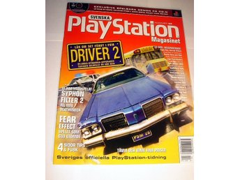 PLAYSTATION Mag 28  NY CD APR2000  DRIVER 2  I ORIGINALPLAST