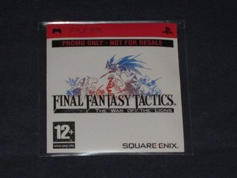 Final Fantasy Tactics: The War of The Lions PSP promo