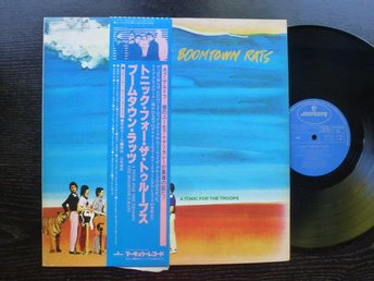 BOOMTOWN RATS - A tonic for the troops Mercury Japan -78 obi och insert  LP