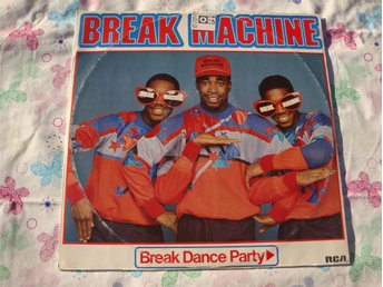 "BREAK MACHINE - BREAK DANCE PARTY 12"" 1984"