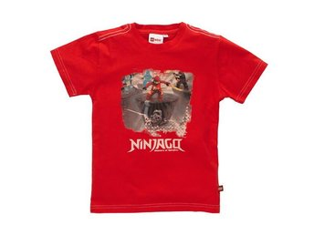 LEGO NINJAGO, POWER T-SHIRT, RÖD (134)