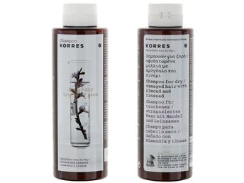 Korres Shampoo for Dry Hair with Almond Linseed 250ml