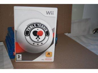 Table Tennis Wii Komplett i nyskick - Slite - Table Tennis Wii Komplett i nyskick - Slite