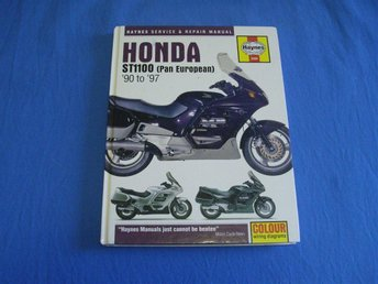 HAYNES Service & Repair Manual Honda ST 1100, -90 to -97.