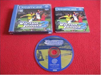 VIRTUA TENNIS 2 till Sega Dreamcast