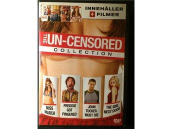 The Un-censored Collection - 4 filmer!!! Se bild. - Segeltorp - The Un-censored Collection - 4 filmer!!! Se bild. - Segeltorp