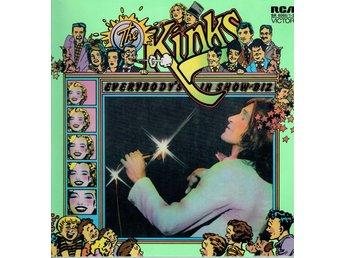 THE KINKS - EVERYBODY'S IN SHOW-BIZ-EVERYBODY'S A STAR (GATEFOLD) 2xLP - Nacka - THE KINKS - EVERYBODY'S IN SHOW-BIZ-EVERYBODY'S A STAR (GATEFOLD) 2xLP - Nacka