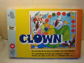 Clown spel Alga.