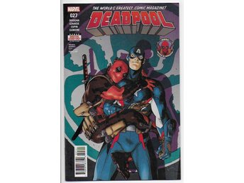 Deadpool Volume 4 # 27 NM Ny Import