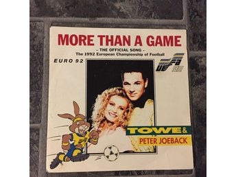 "TOWE & PETER JÖBACK - MORE THAN A GAME. (7"")"