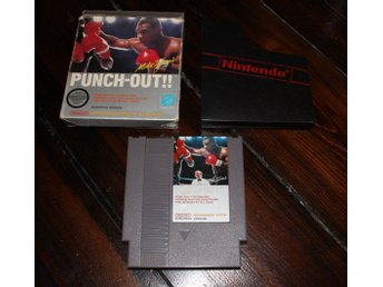 NES - Punch Out! (Mike Tyson) (Boxad) (Bergsala-SCN) (Beg)