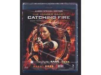 BLURAY - HUNGER GAMES - CATCHING FIRE   ny och inplastad