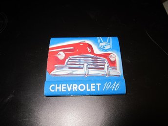 GM CHEVROLET 1946 ORGINALTÄNDSTICKSASK NYSKICK