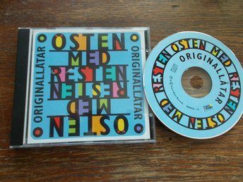ÖSTEN MED RESTEN - Originallåtar, CD Start Klart 2001 Povel Ramel ABBA covers mm