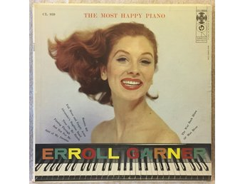 ERROLL GARNER / THE MOST HAPPY PIANO - Columbia six-eye-label, US original 1957