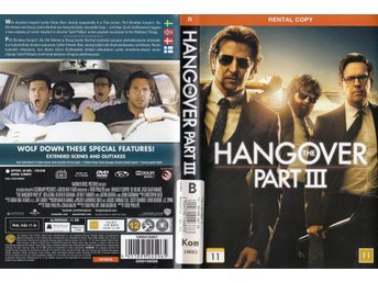 The Hangover Part 3 2013 DVD (Hyr)