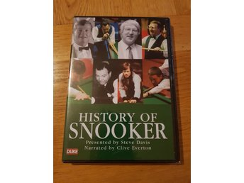 dvd HISTORY OF SNOOKER