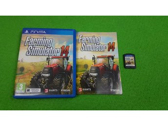 Farming Simulator 14 Playstation Vita ps
